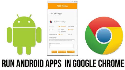 emulator android di google chrome